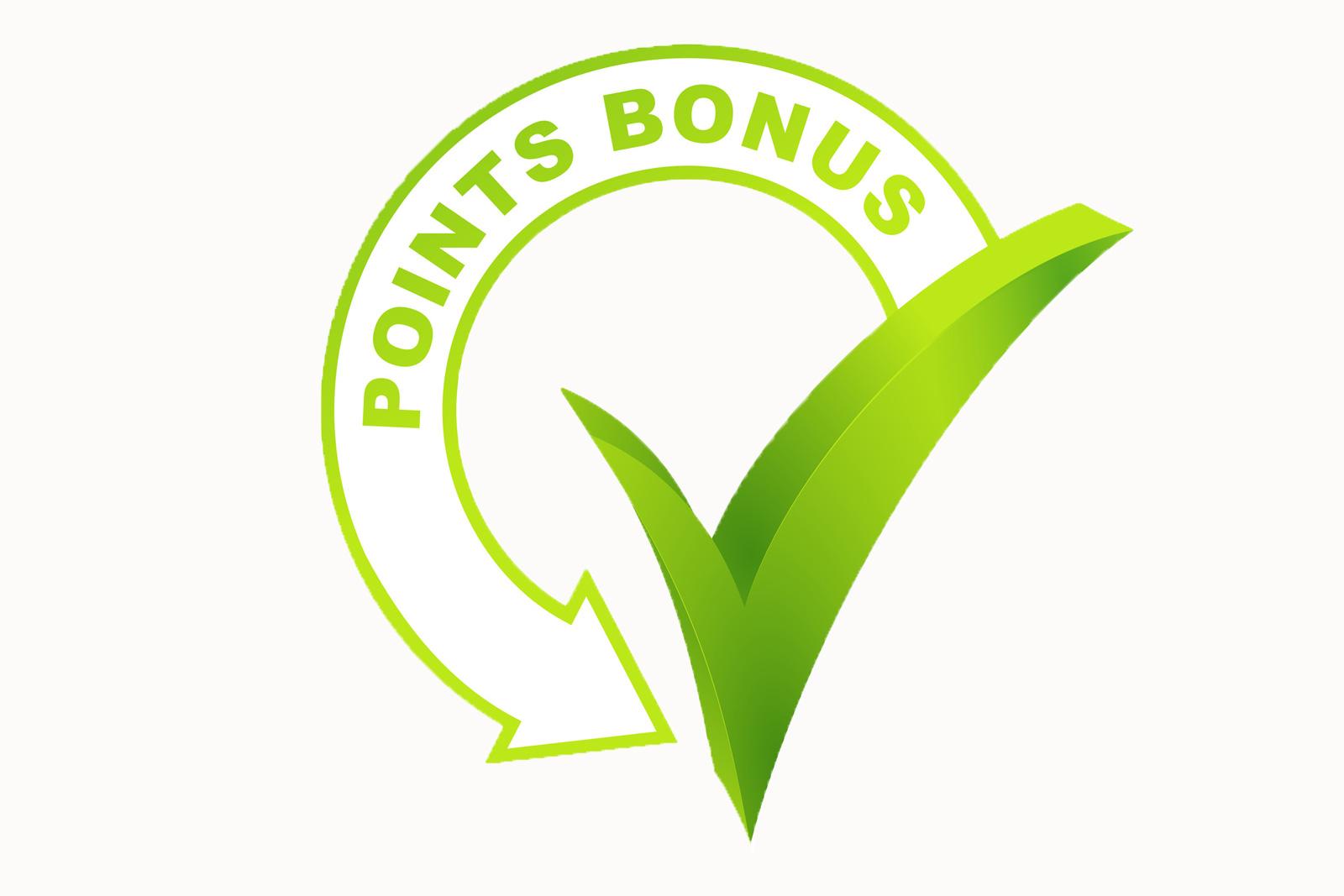 Bonuspunkte-Danke