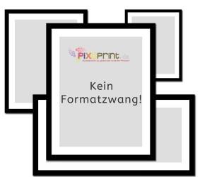 Deine Bilder bestellst du in jedem Format bei freier Formatauswahl