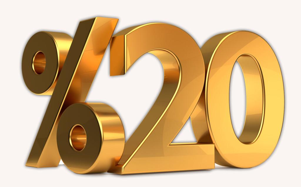 Für kurze Zeit - 20% Rabatt auf alle Fotoprodukte