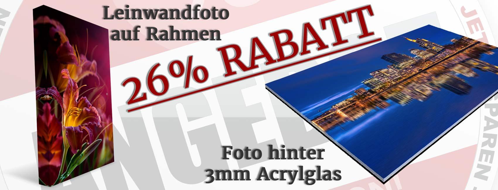 Leinwandfoto und Bilder hinter Acrylglas im Angebot